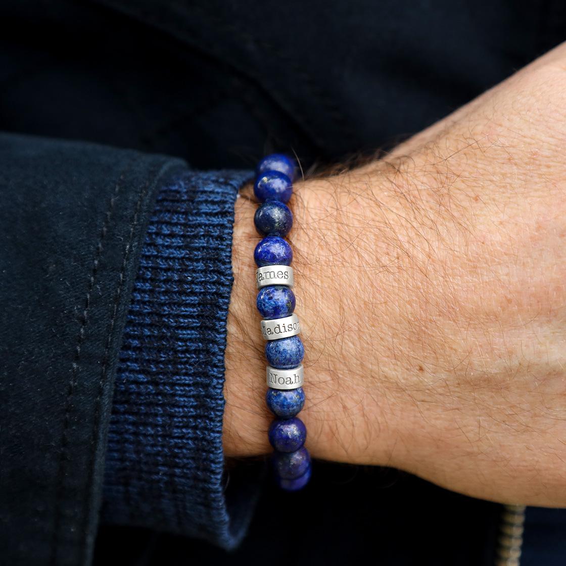 Lapis Lazuli Men's Bracelet