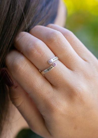 Sunbird Birthstone Ring [Sterling Silver]
