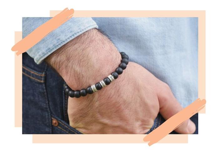 Men Beaded Bracelets